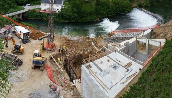 Hidroelektrarna Zagradec